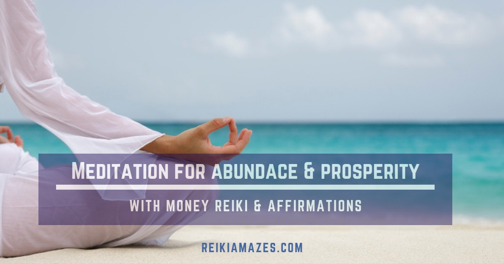 meditation for abundace & prosperity