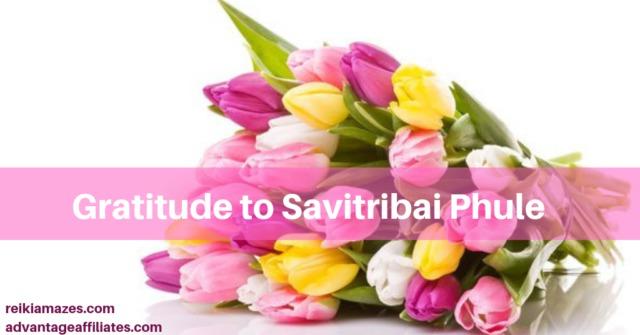gratitude to Savitribai