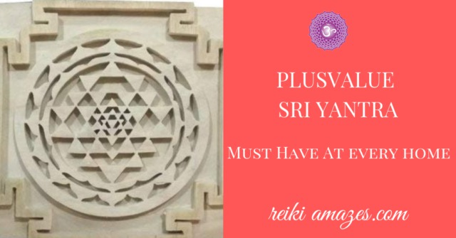 Plusvalue Wooden Sriparni Sri Yantra -Must for Every House
