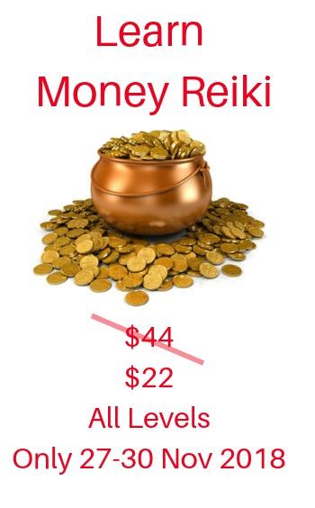 Learn Money Reiki 50% discount