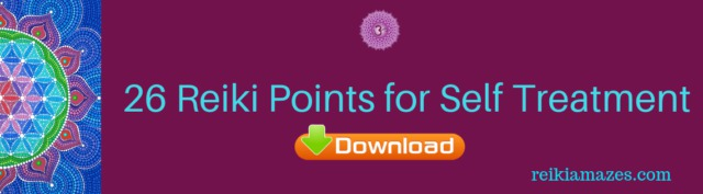 Free download 26 Reiki Points for self treatment