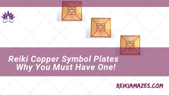 feature image of reiki copper symbol plates