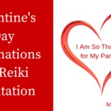 valentin's day affirmations for reiki meditation