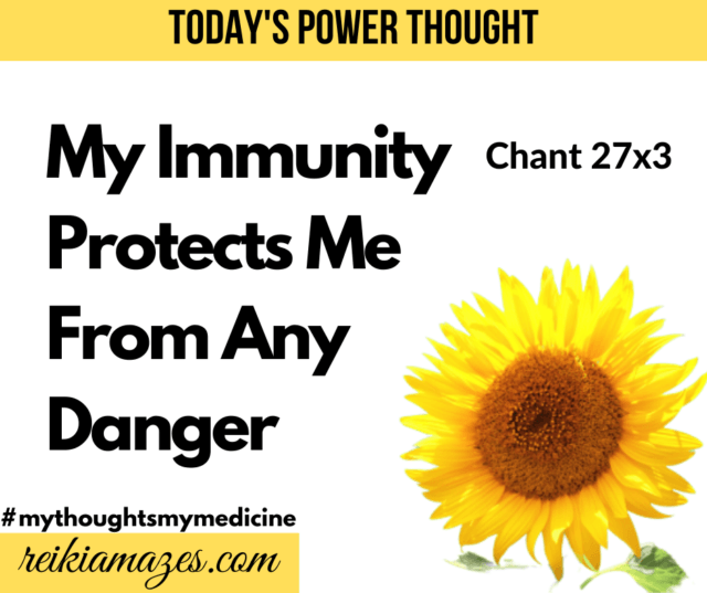 Affirmations for immunity