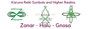 Symbols to connect with Higher Realms