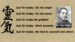 5 principles of Reiki