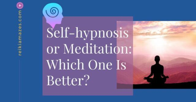 Self Hypnosis vs Meditation-Which One Is Better?
