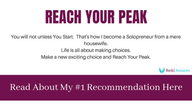 reach your peak footer reiki amazes