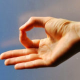 Mudra and reiki