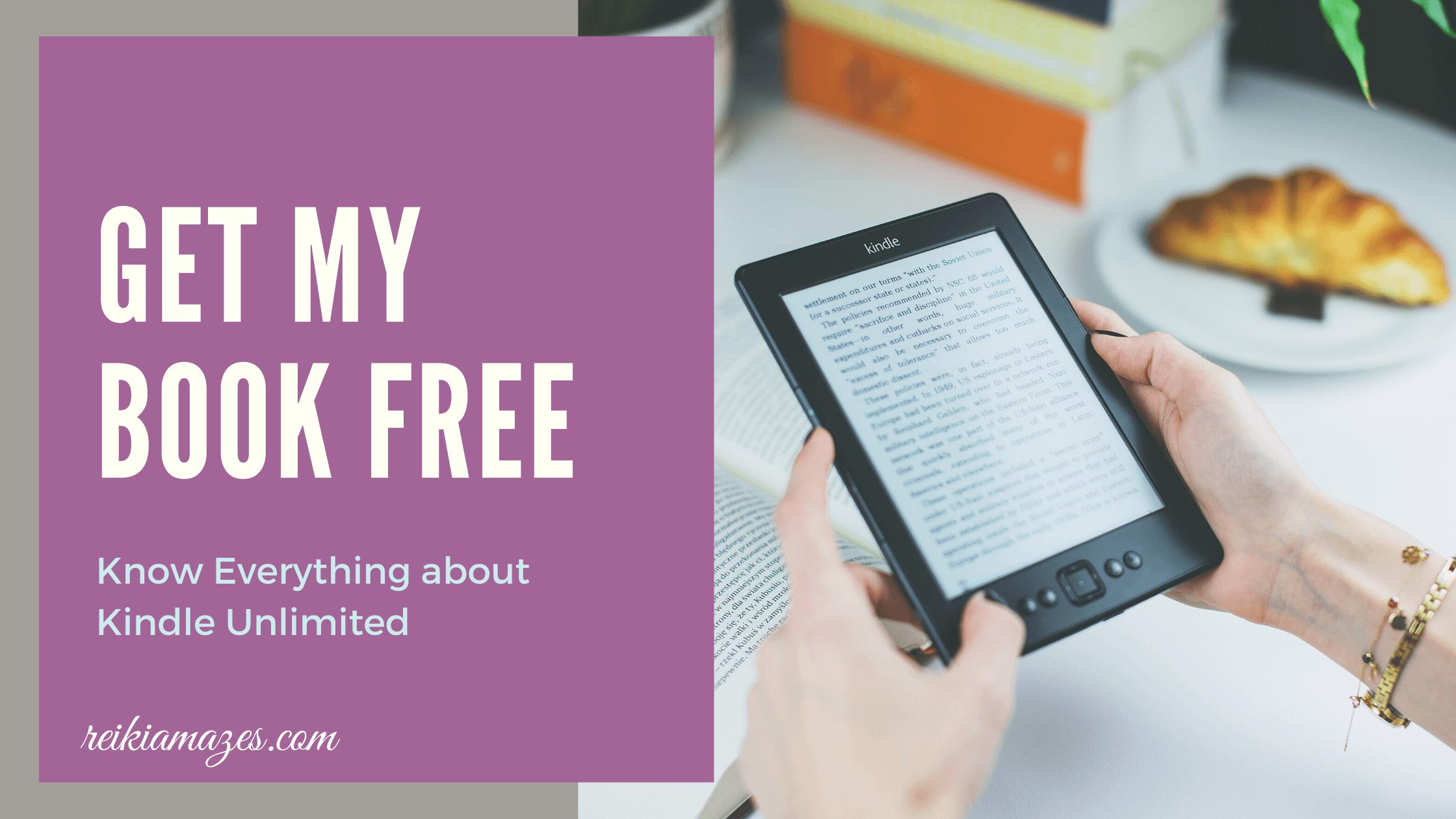 get my book free -Reiki Amazes