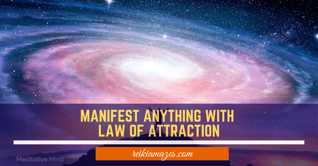 manifest with law of attraction