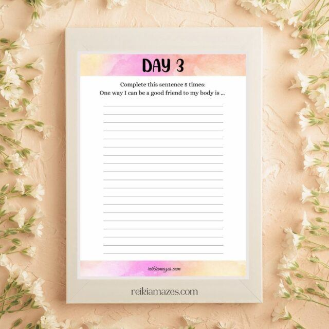Day 3 change your life with affirmations