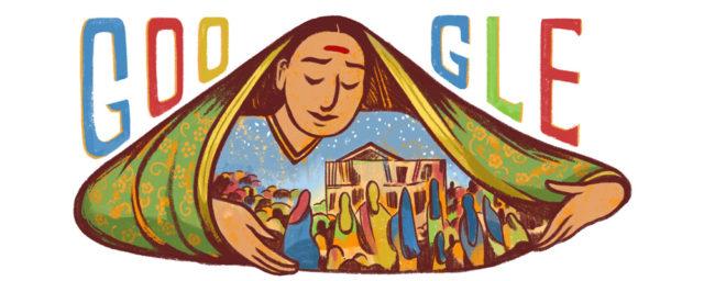 google doodle on savitribai-phules-186th-birthday