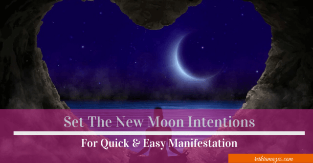 set the new moon intentions feature image