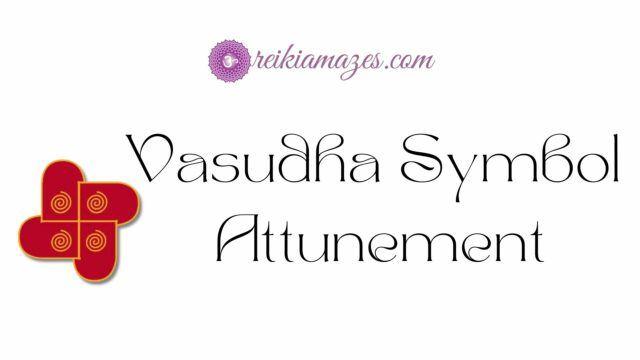 vasudha symbol attunement
